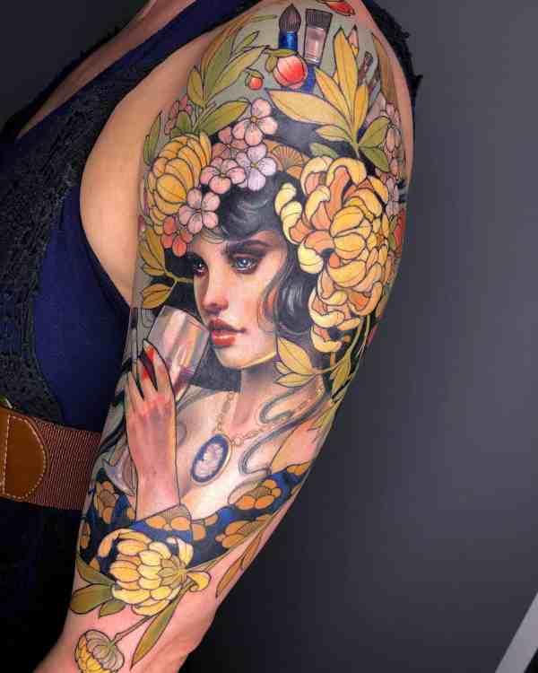 elegant tattoo 2020012624 - 60+ Elegant Tattoo Ideas Will Inspire Women