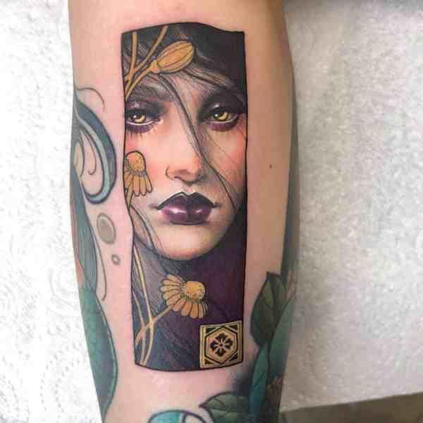 elegant tattoo 2020012630 - 60+ Elegant Tattoo Ideas Will Inspire Women