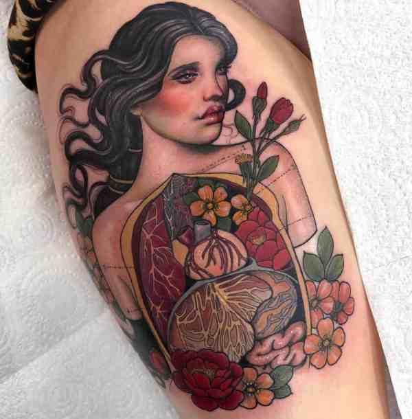 elegant tattoo 2020012637 - 60+ Elegant Tattoo Ideas Will Inspire Women