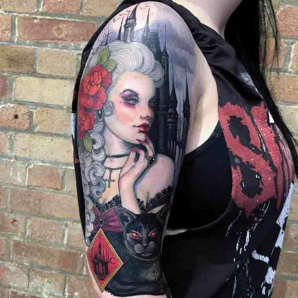 elegant tattoo 2020012640 - 60+ Elegant Tattoo Ideas Will Inspire Women