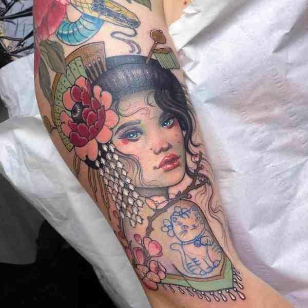 elegant tattoo 2020012671 - 60+ Elegant Tattoo Ideas Will Inspire Women