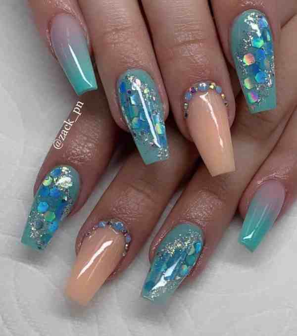 long coffin nail 2020013125 - 80+ Charming Long Coffin Nail Designs in 2020
