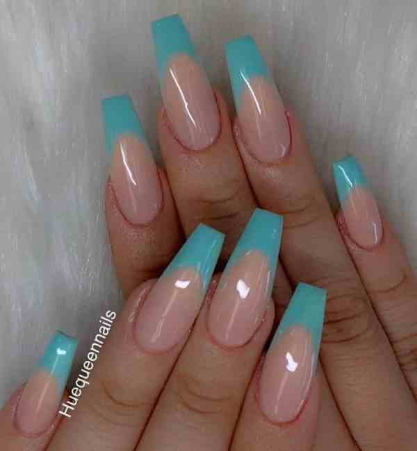 long coffin nail 2020013128 - 80+ Charming Long Coffin Nail Designs in 2020