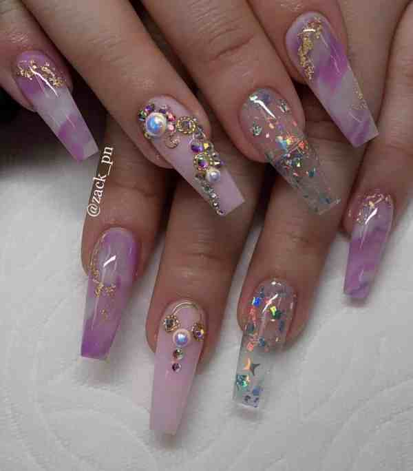 long coffin nail 2020013129 - 80+ Charming Long Coffin Nail Designs in 2020