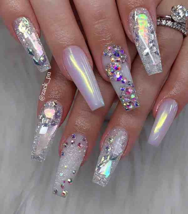 long coffin nail 2020013132 - 80+ Charming Long Coffin Nail Designs in 2020