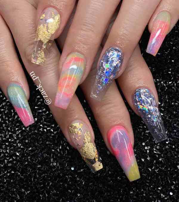long coffin nail 2020013148 - 80+ Charming Long Coffin Nail Designs in 2020