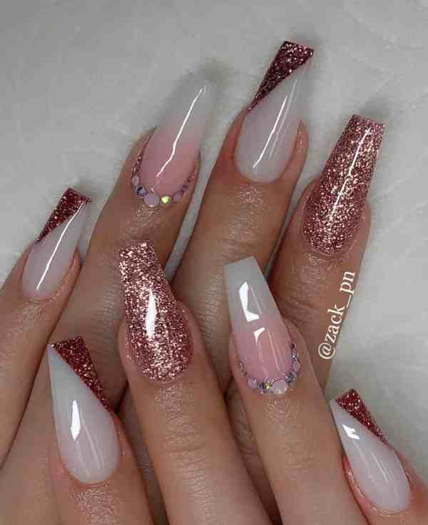 long coffin nail 2020013154 - 80+ Charming Long Coffin Nail Designs in 2020