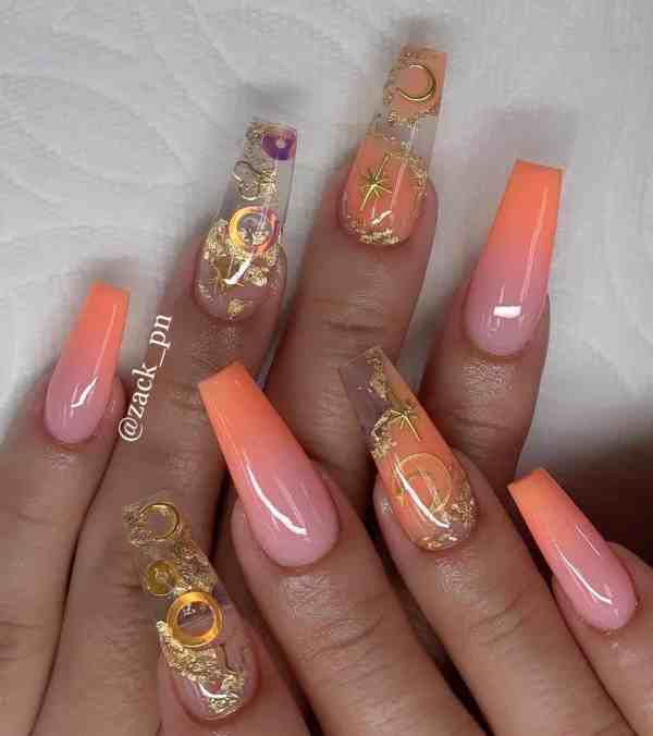 long coffin nail 2020013171 - 80+ Charming Long Coffin Nail Designs in 2020