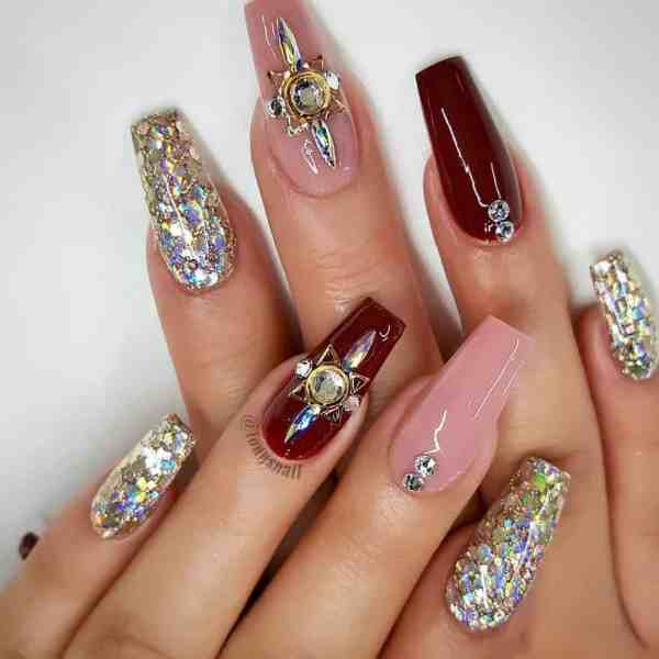 nails art 2020010508 - 60+ Nails Art That Is Super Trendy Right Now