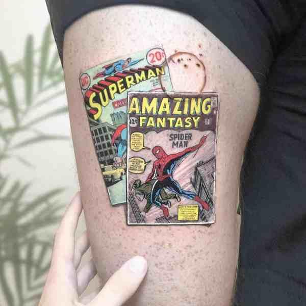 stunning tattoos 2020012965 - 100+ Stunning Tattoos to Inspire Your Super Inspiration