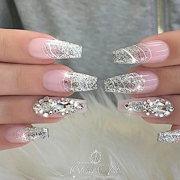 winter nail 20200201102 - 190+ Amazing Spring And Winter Nail Designs Ideas