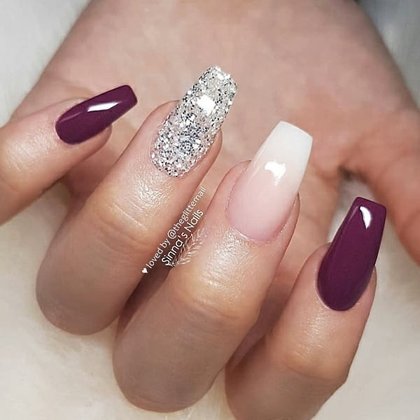 winter nail 20200201103 - 190+ Amazing Spring And Winter Nail Designs Ideas