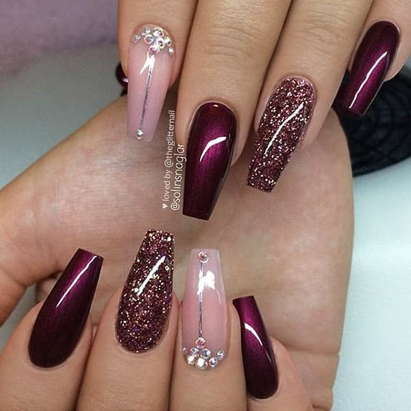 winter nail 20200201125 - 190+ Amazing Spring And Winter Nail Designs Ideas