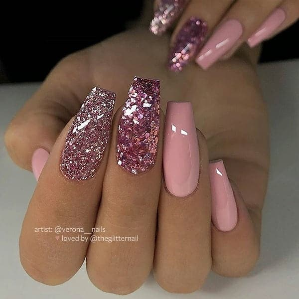 winter nail 20200201134 - 190+ Amazing Spring And Winter Nail Designs Ideas