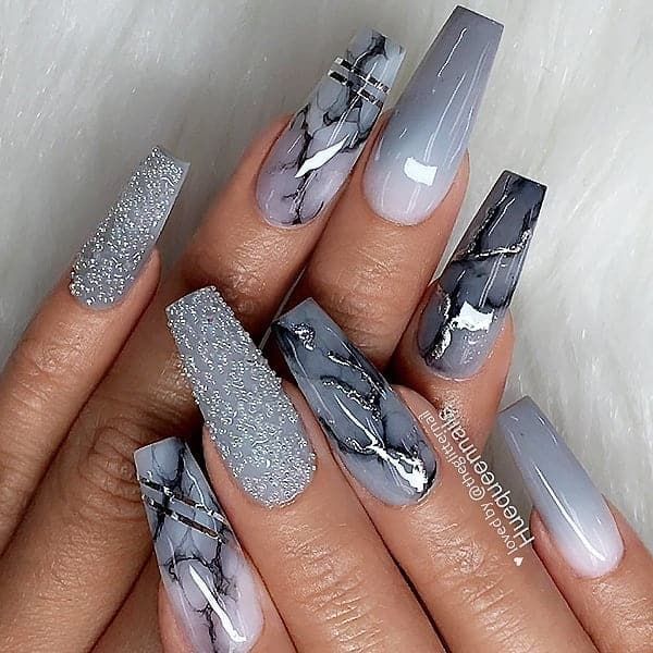 winter nail 20200201148 - 190+ Amazing Spring And Winter Nail Designs Ideas