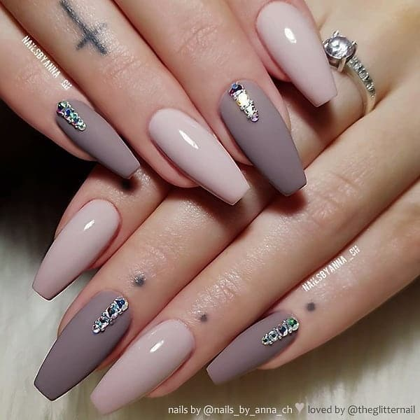 winter nail 20200201152 - 190+ Amazing Spring And Winter Nail Designs Ideas