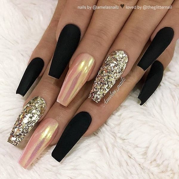 winter nail 20200201157 - 190+ Amazing Spring And Winter Nail Designs Ideas