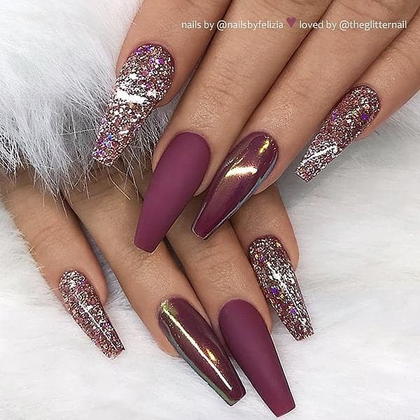 winter nail 20200201173 - 190+ Amazing Spring And Winter Nail Designs Ideas