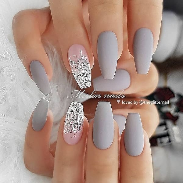 winter nail 20200201185 - 190+ Amazing Spring And Winter Nail Designs Ideas