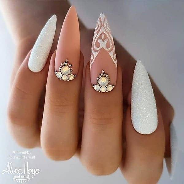 winter nail 2020020138 - 190+ Amazing Spring And Winter Nail Designs Ideas