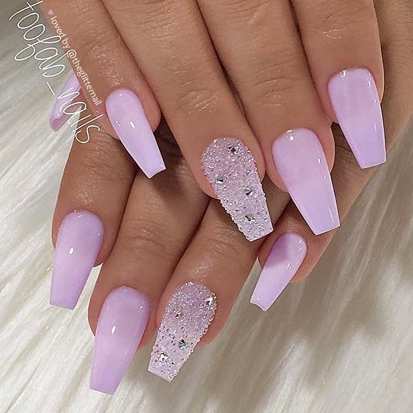winter nail 2020020139 - 190+ Amazing Spring And Winter Nail Designs Ideas