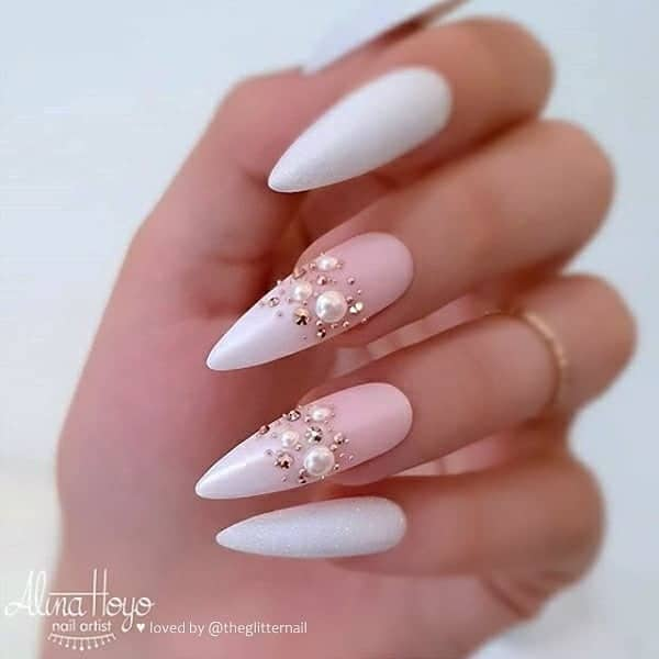 winter nail 2020020171 - 190+ Amazing Spring And Winter Nail Designs Ideas