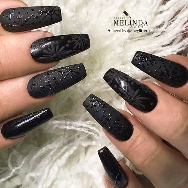 winter nail 2020020186 - 190+ Amazing Spring And Winter Nail Designs Ideas