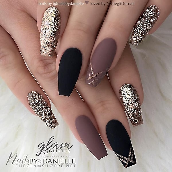 winter nail 2020020189 - 190+ Amazing Spring And Winter Nail Designs Ideas