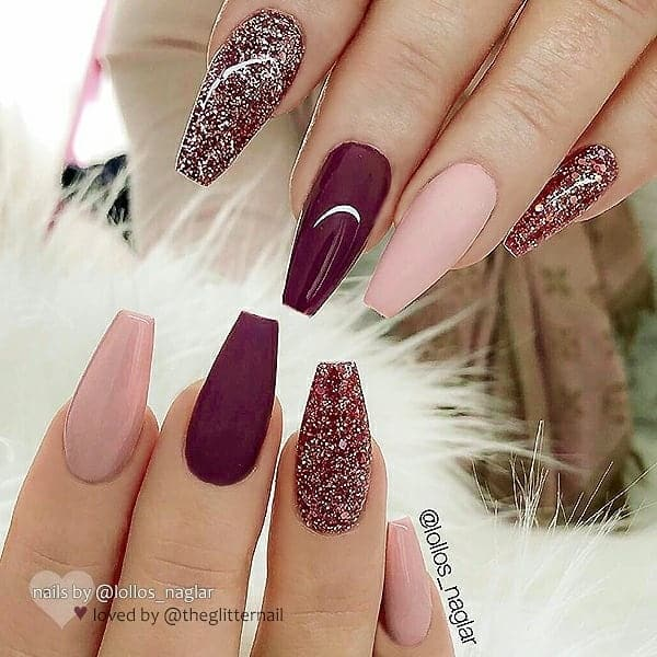 winter nail 2020020195 - 190+ Amazing Spring And Winter Nail Designs Ideas