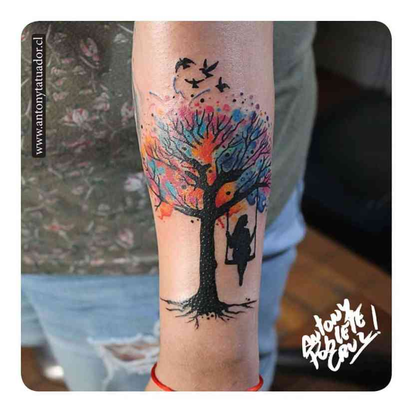 Watercolor Tattoo 2020043006 - Best Watercolor Tattoo Ideas 2020 Impress you