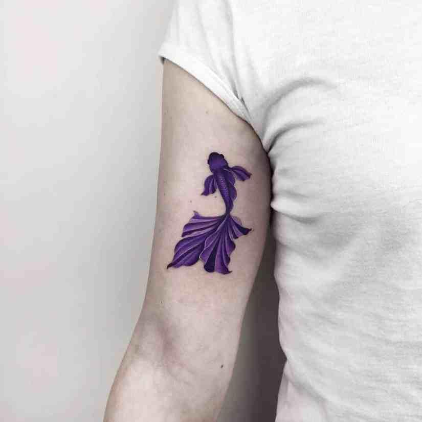 fish tattoo 2020041711 - Most Beautiful Fish Tattoo Ideas 2020