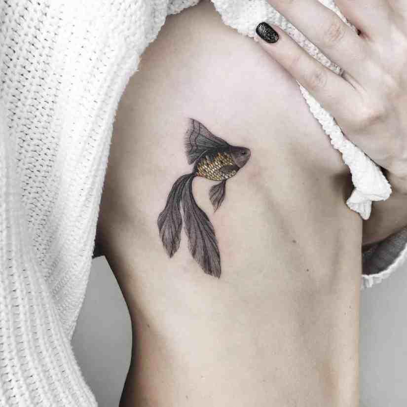 fish tattoo 2020041712 - Most Beautiful Fish Tattoo Ideas 2020
