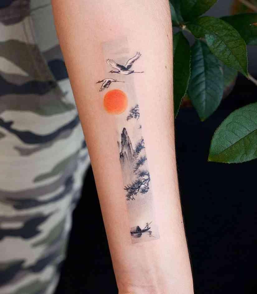 frame tattoo 2020050201 - Exquisite Frame Tattoo Designs Shock You