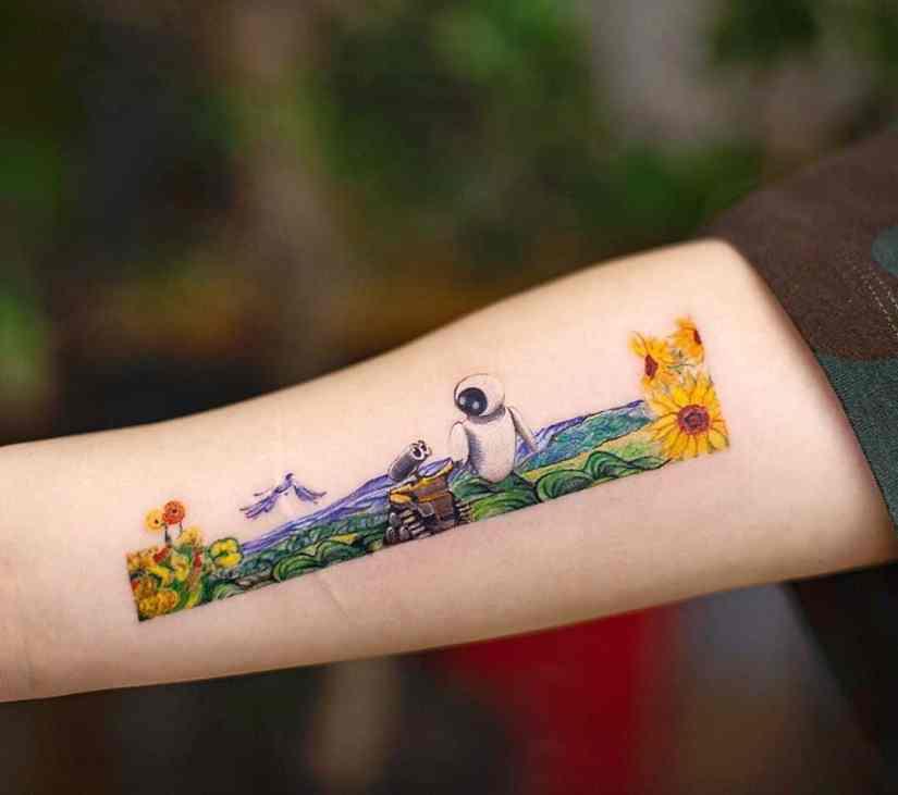 frame tattoo 2020050205 - Exquisite Frame Tattoo Designs Shock You