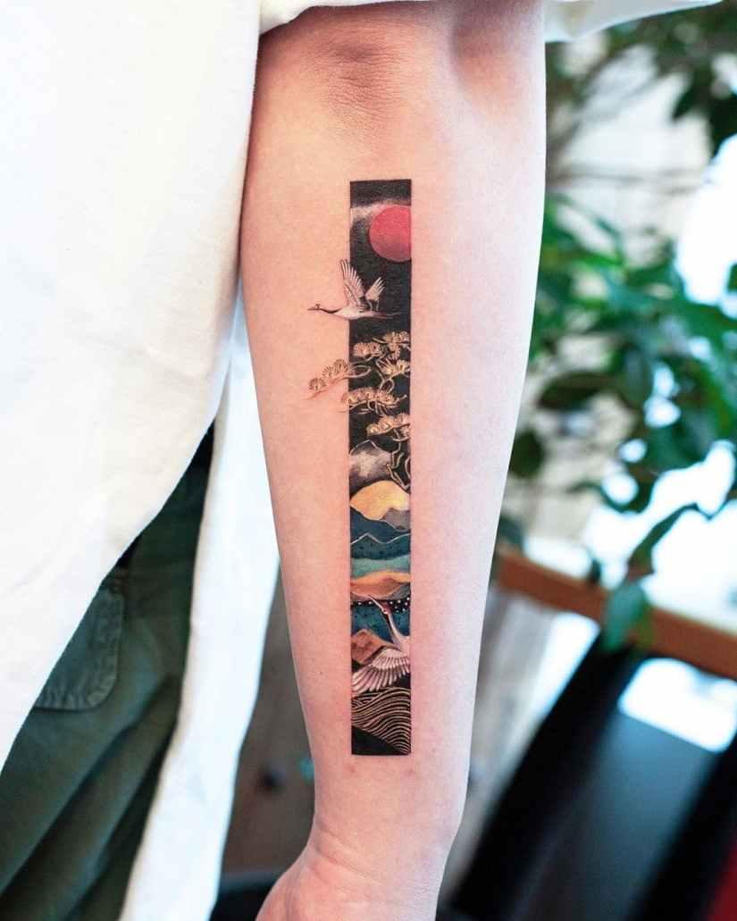 frame tattoo 2020050215 - Exquisite Frame Tattoo Designs Shock You