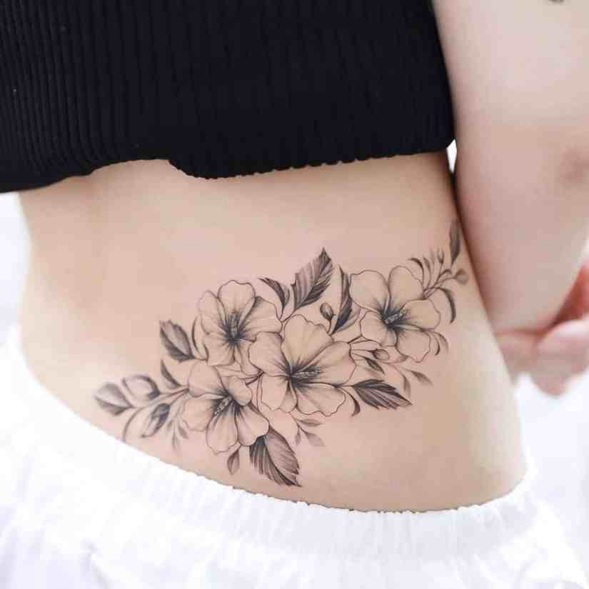 Hibiscus Tattoo 2020073002 - 20 Best Hibiscus Tattoo Designs to Inspire You