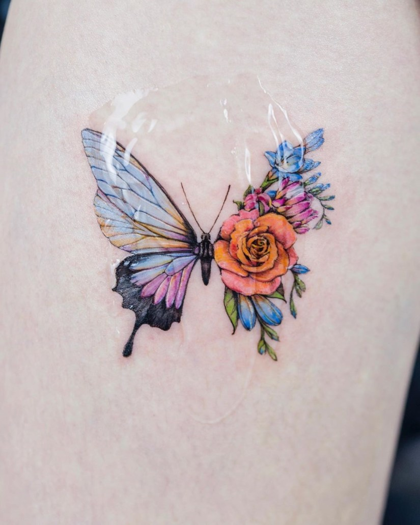 Butterfly tattoo designs 2020080204 - 20+ Best Butterfly Tattoo Designs 2020