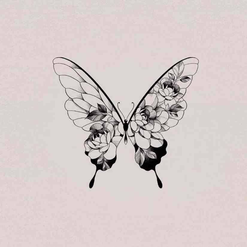 Butterfly tattoo ideas 2020080814 - Best Butterfly Tattoo Ideas 2020 You Will Love