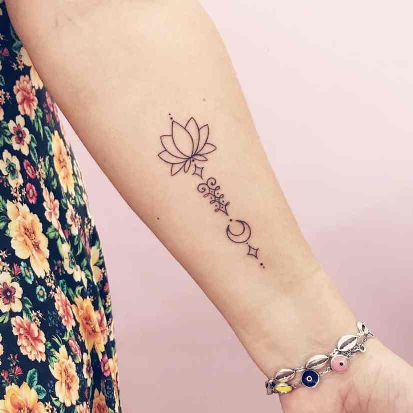 Lotus Tattoos 2020081922 - 20+ Amazing Lotus Tattoos & Meanings