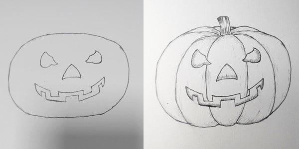 drawing-Halloween-pumpkins-20200828