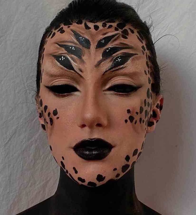 spider makeup 2020090717 - 20+ Creepy Spider Makeup for Halloween 2020