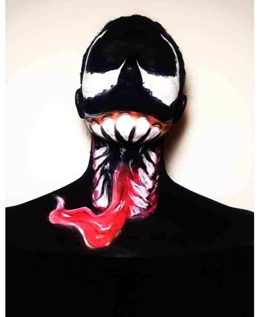 Halloween Venom Makeup 2020100502 - 10+ Halloween Venom Makeup Extreme Fear