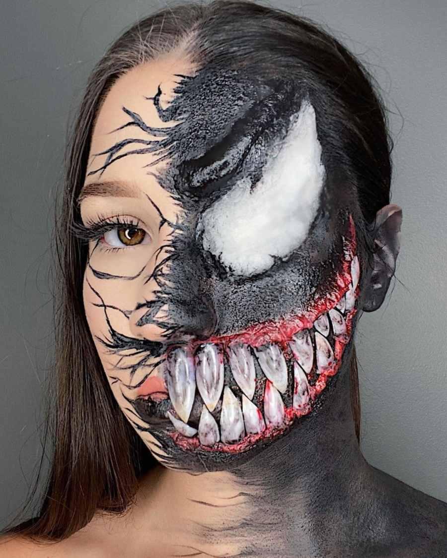 Halloween Venom Makeup 2020100504 - 10+ Halloween Venom Makeup Extreme Fear