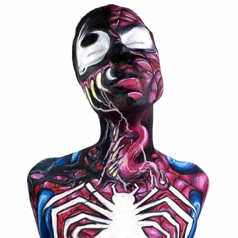 Halloween Venom Makeup 2020100506 - 10+ Halloween Venom Makeup Extreme Fear