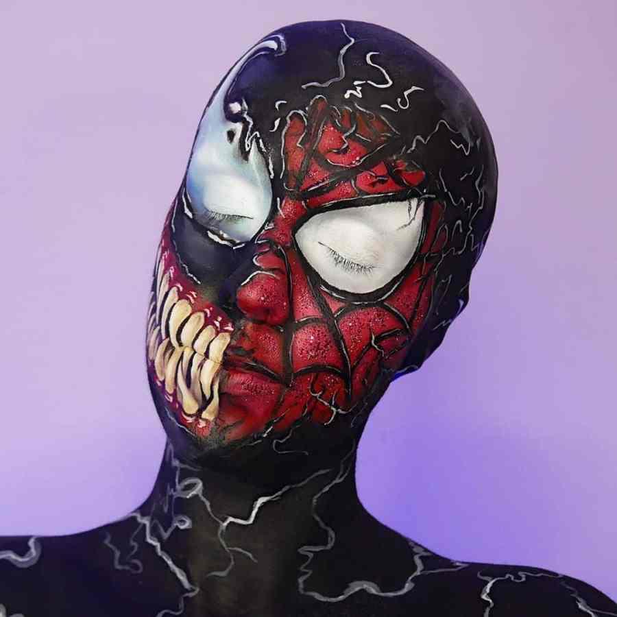 Halloween Venom Makeup 2020100509 - 10+ Halloween Venom Makeup Extreme Fear