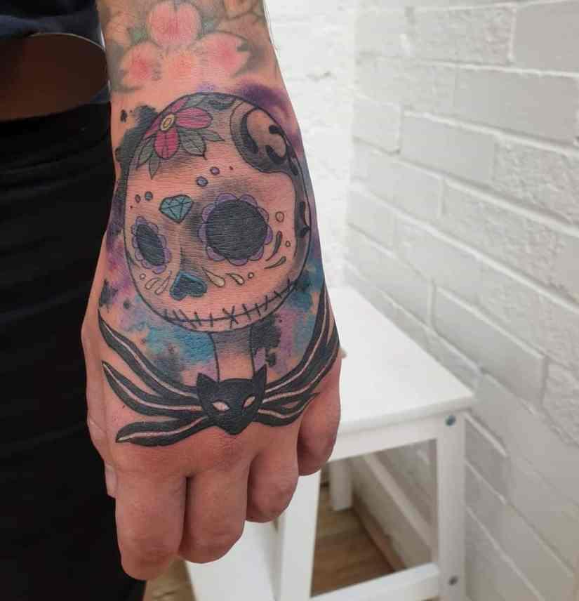 Jack Skellington Tattoos and Sally Tattoos 2020101202 - 20+ Jack Skellington Tattoos and Sally Tattoos