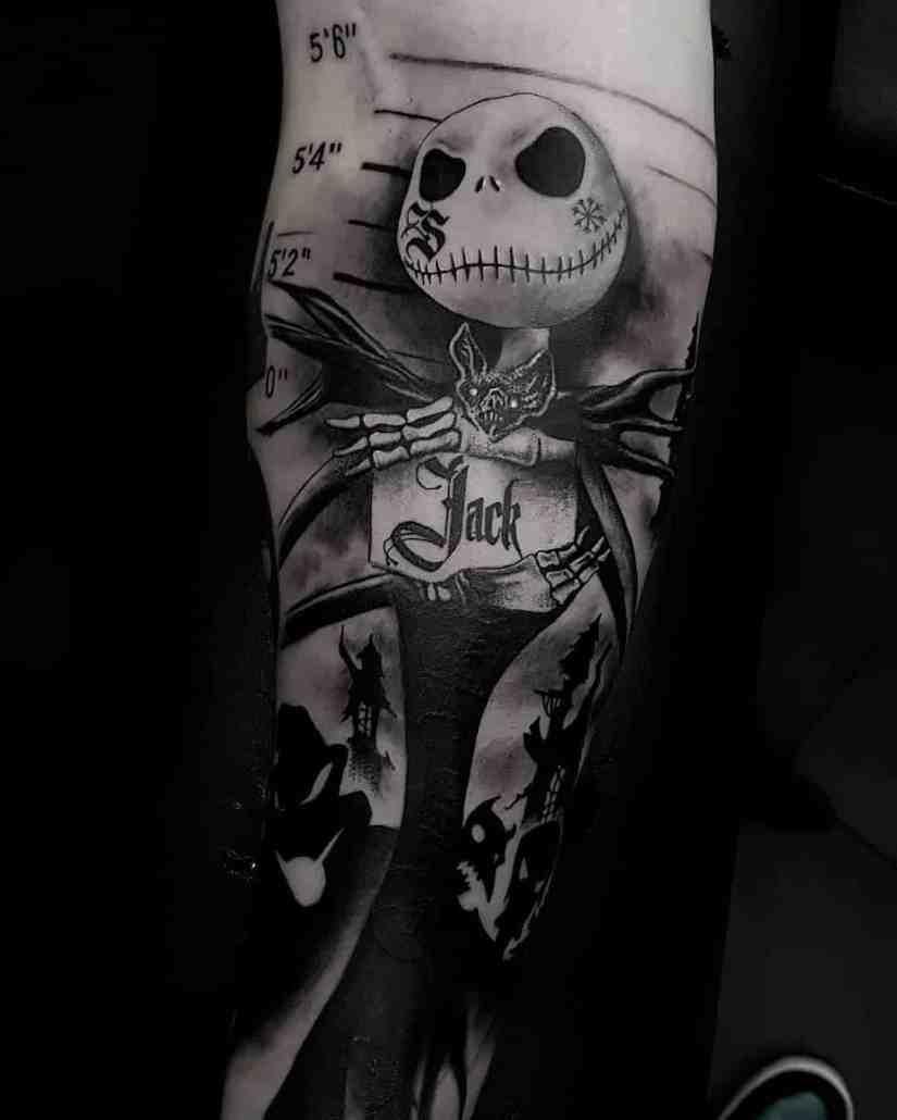 Jack Skellington Tattoos and Sally Tattoos 2020101215 - 20+ Jack Skellington Tattoos and Sally Tattoos