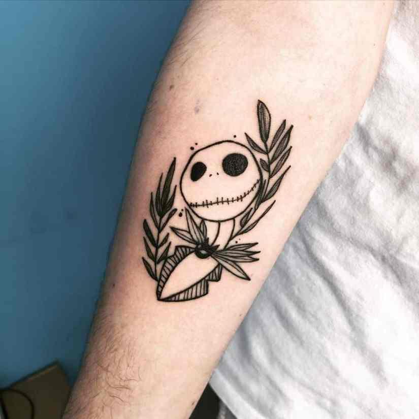 Jack Skellington Tattoos and Sally Tattoos 2020101216 - 20+ Jack Skellington Tattoos and Sally Tattoos