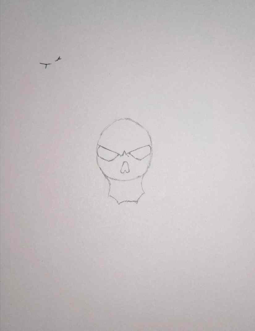 draw grim reaper 2020101504 - How to Draw Grim Reaper Face - Step by Step Tutorial