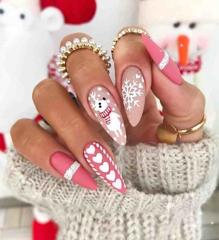 Christmas nails 2020112311 - Gorgeous Christmas Nails 2020 Best Holiday Atmosphere